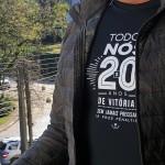 Camiseta 20 anos protótipo
