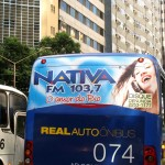 Nativa FM | Busdoor